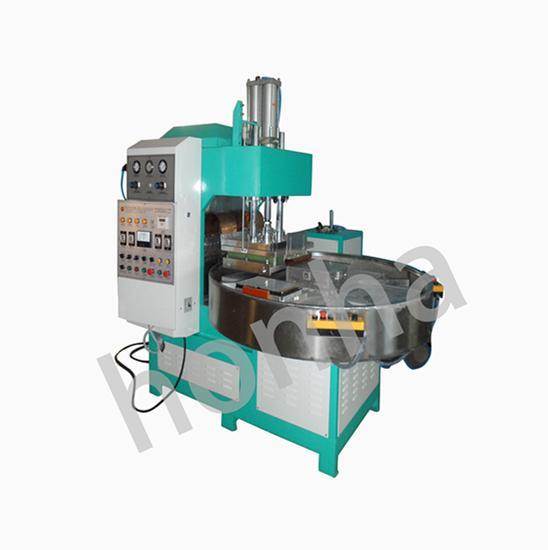 三工位自动转盘高周波同步熔断机